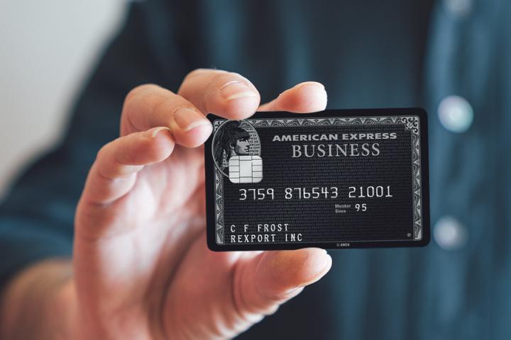 American Express Centurion : La carte Amex (noire)